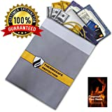 Fireproof Document Storage Bag by DocuBank - 15x11 Double Layer Heat & Water Resistant Protection | FIRE SAFETY EBOOK INCLUDED | Money, Firearms, Personal Items, Valuables, Lipo Battery