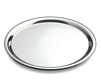 DEL - Bandeja para Servir Redonda - Acero Inoxidable - Ø 40 cm