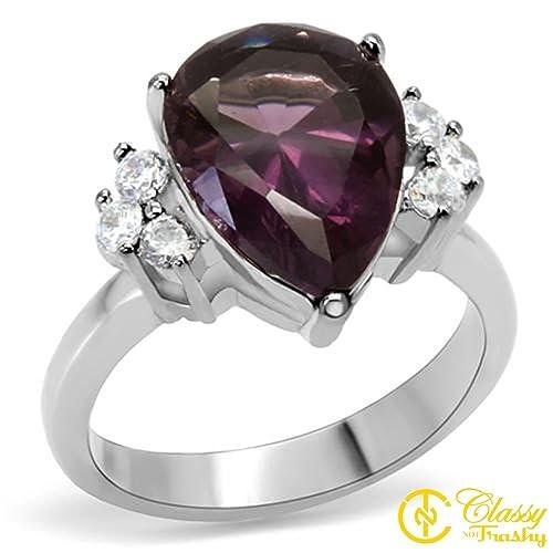 Amazon.com: De la Mujer Bisutería anillo de moda, Premium ...