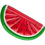 Bada Bing Aufblasbare Luftmatratze Melone Wassermelone Ca. 180 x 90 cm Garten Pool Deko 61