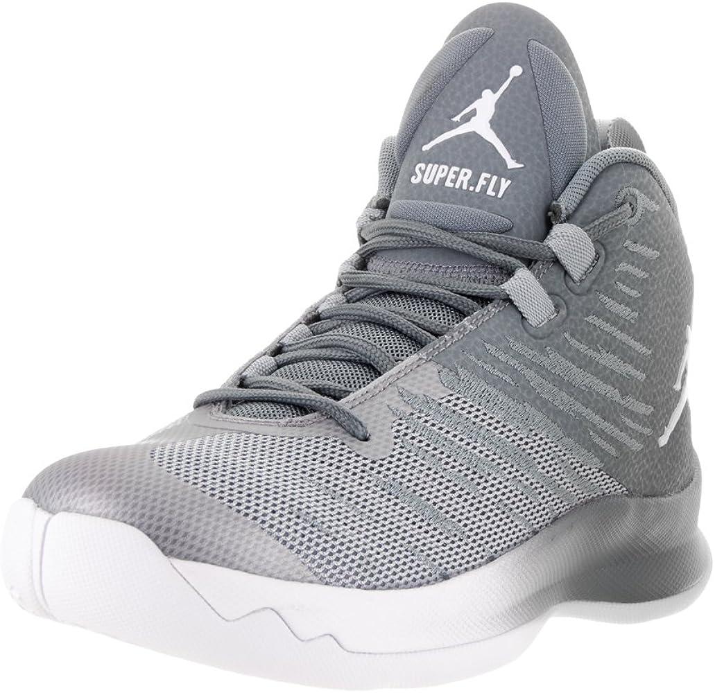 Jordan Super. Fly 5 Bg niños Basketball-Shoes 844689: Amazon.es ...