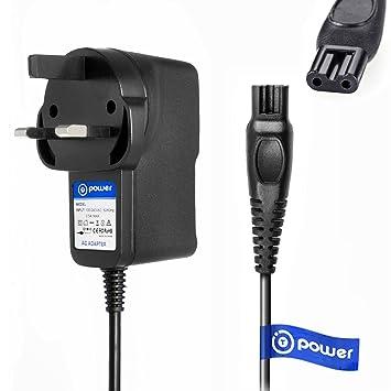 T-Power AC DC adaptador cargador rápido ((5 ft cable largo ...