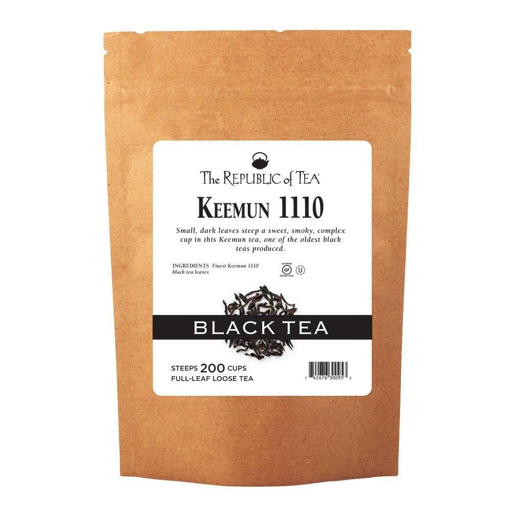 The Republic Of Tea Keemun 1110 Full-Leaf Tea, 1 Pound / 200 Cups