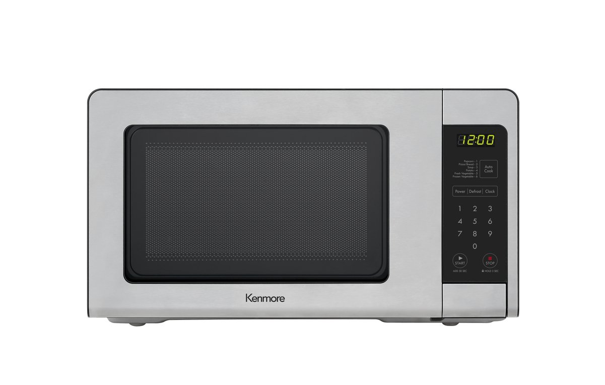 Kenmore 70713 0.7 cu. ft. Countertop Microwave in Stainless Steel