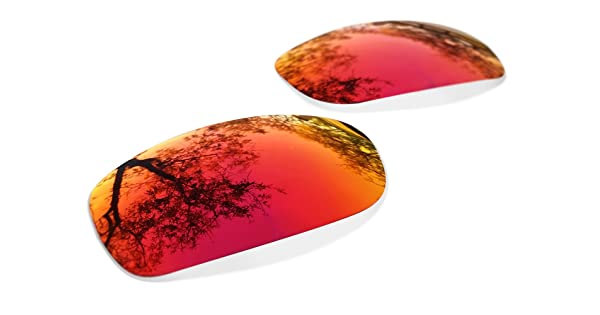 e34ddd116cb Sunglasses Restorer Polarized Ruby Red Replacement Lenses for Oakley Fives  Squared 3.0