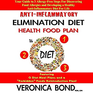 Anti-Inflammatory Elimination Diet Health Food Plan Audiobook