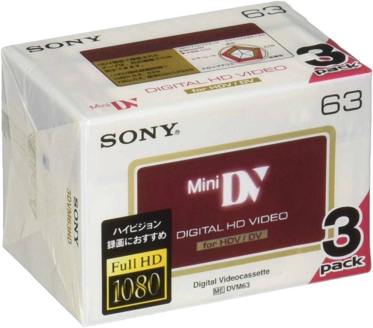 Panasonic Mini-DV Videocassette One Box of 5+1 Extra