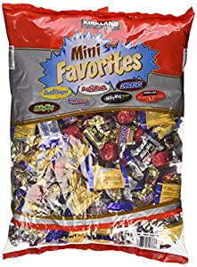 Amazon.com : Halloween Mini Candy Bars Chocolate Mini ...