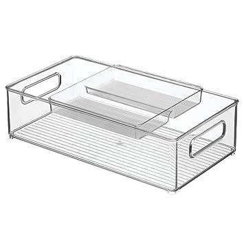 InterDesign Kitchen Storage Bin And Tray U2013 Food Organizer Drawer For Pantry  Or Refrigerator U2013 2