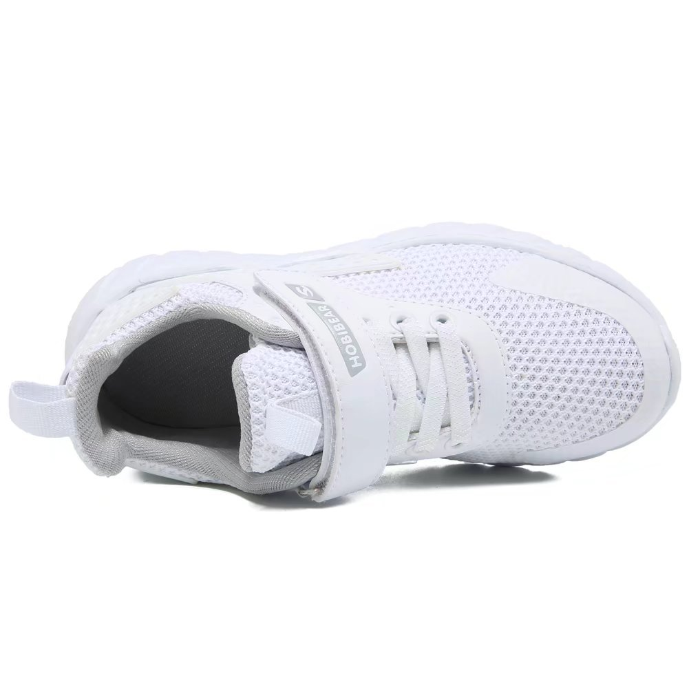GUBARUN Kids Running Shoes Boys and Girls Lightweight Comfortable Walking Sneakers(11, White) by GUBARUN (Image #5)
