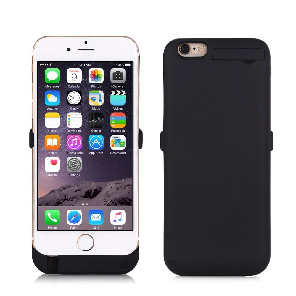 ZOGIN Funda Batería iphone 6 plus / 6s plus, 10000mAh Funda Protectora Cargador / Funda de Batería Integrada Recargable de Alta Capacidad para iPhone ...