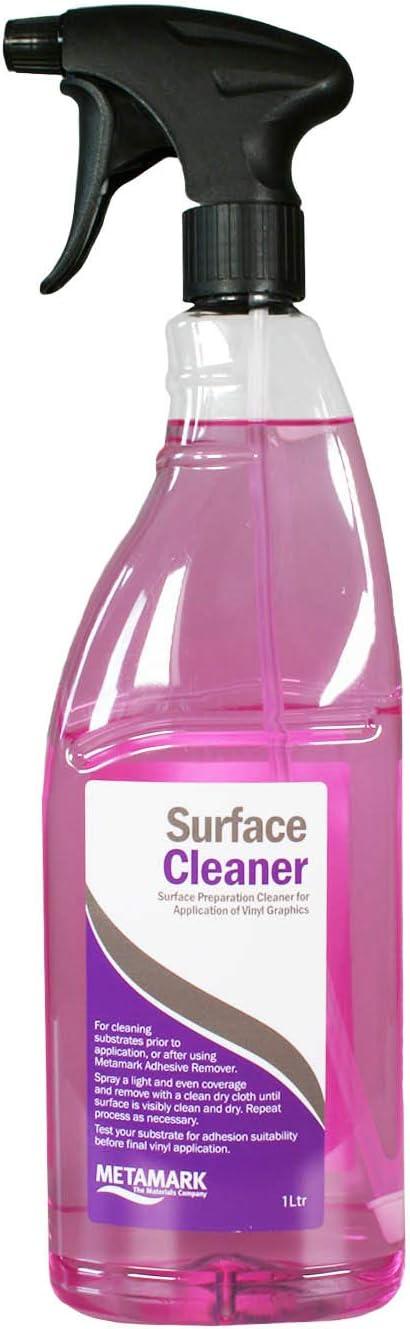 Metamark Untergrund Reiniger Surface Cleaner I 1 Liter Sprühflasche I Car Wrapping Folien Werkzeug I Az 074 Auto