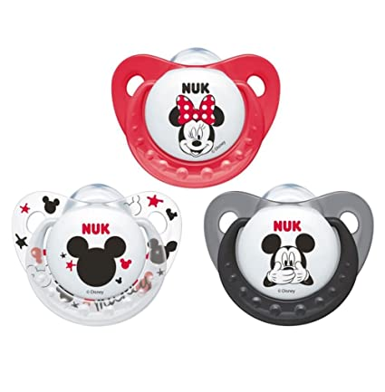NUK CHUPETE TRENDLINE MICKEY MOUSE SILICONA 0-6 M 1 UD ...
