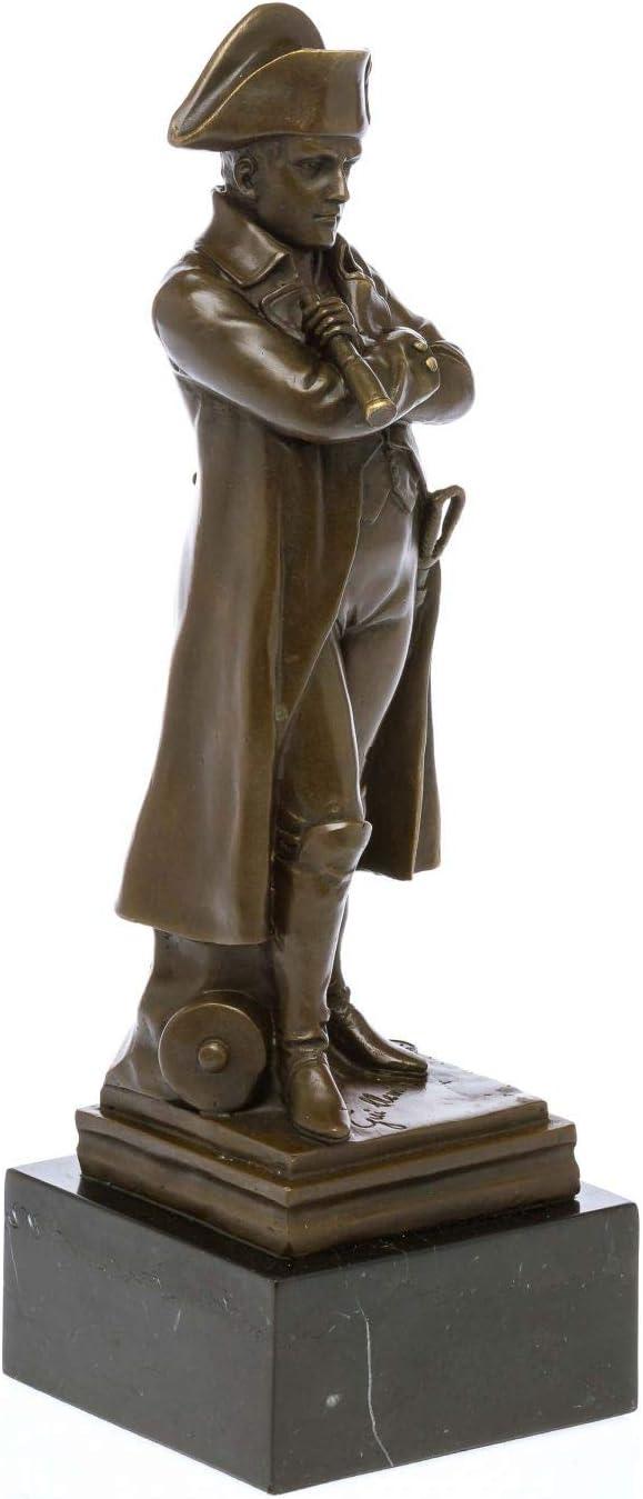 Bronzeskulptur Napoleon im Antik-Stil Bronze Figur Statue 31cm