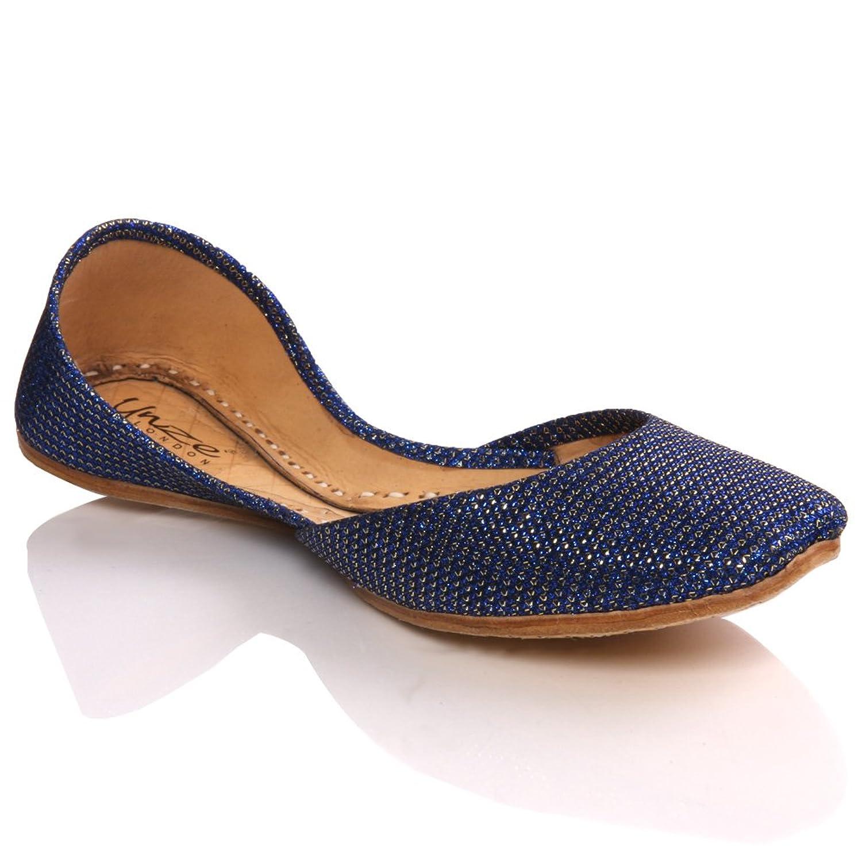 Unze Womens 'Anin' Stylish Flat Slipons Day Pumps Shoes - L308