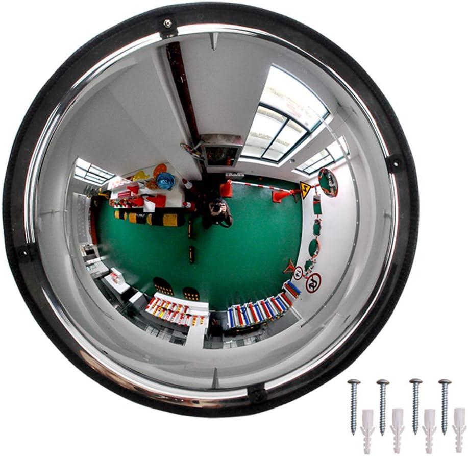 underground parking shops 50 cm 1//2 Acrylic Dome Mirror 360 degree convex safety mirror for supermarkets 19.68 in