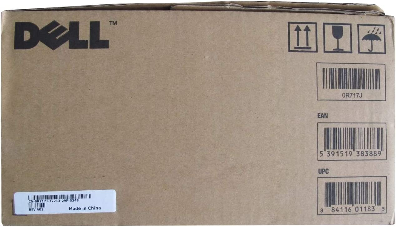 DELL PRINTER ACCESSORIES r717j dell 2145cn 5.5k Black Toner Cartridge 330-3789
