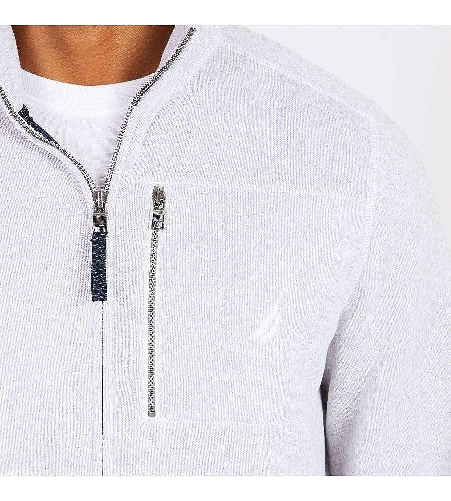 Nautica Mens Full-Zip Sweater Fleece Jacket Sweatshirt