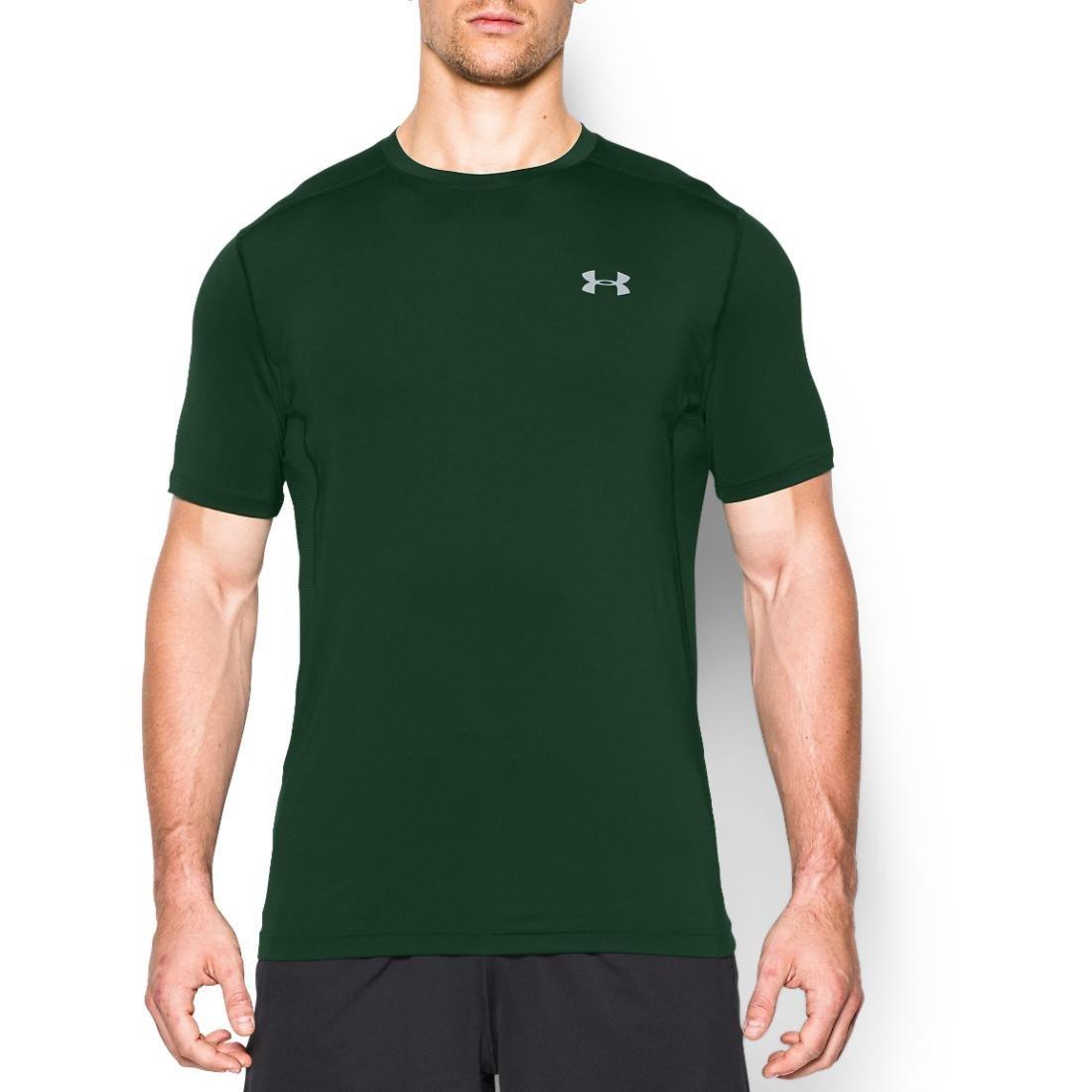 (アンダーアーマー) UNDER ARMOUR ヒットヒートギアSS(トレーニング/Tシャツ/MEN)[1257466] B017EZXL1I XXXX-Large|フォレストグリーン フォレストグリーン XXXX-Large