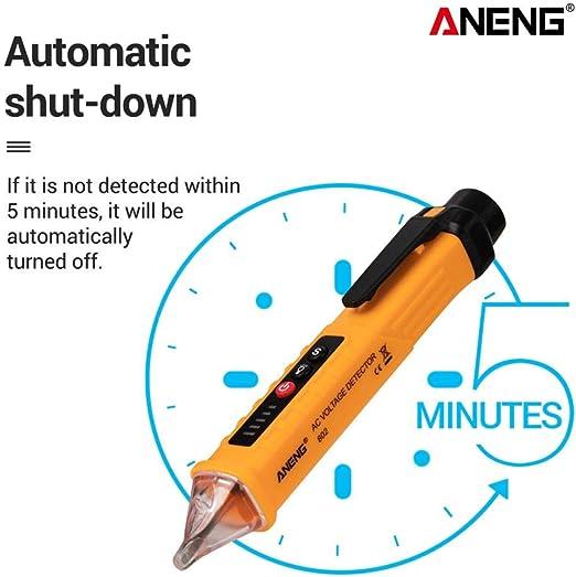 ANENG Digital AC//DC 10V//48V//1000V Voltage Tester Pen Volt Detector Sensor