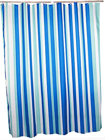 Amazoncom Extra Long Shower Curtain For Bathroom Water Repellent