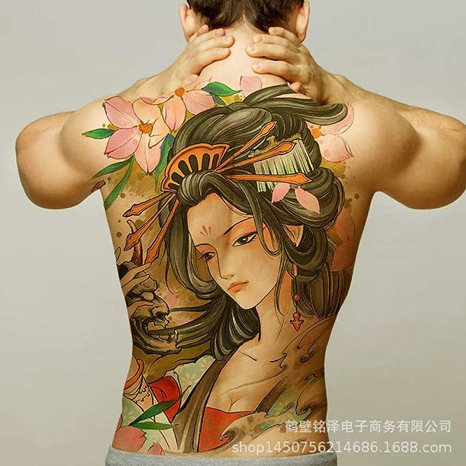 tzxdbh 2 Piezas-Nuevo [91 Opcionales] Pegatinas para Tatuaje con ...