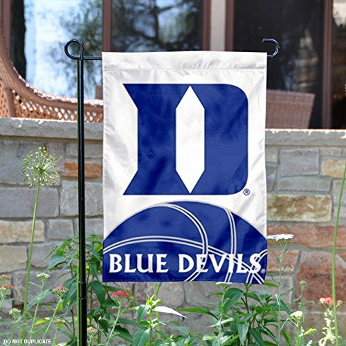 Duke Blue Devils Window - NCAA Duke Blue Devils 2-Sided Garden Flag, Black