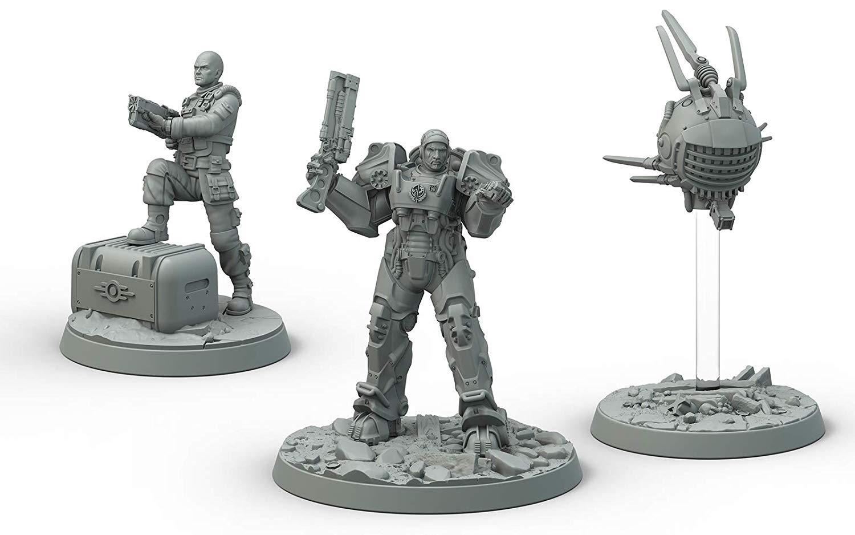 Fallout Wasteland Warfare Brotherhood of Steel Cade /& Danse Box Modiphius Entertainment