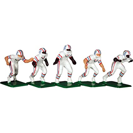 e7d9b15a Tudor Games 5-19-W NFL Away Jersey - Houston Oilers 11 Electric Football  Players, Multicolor (Pack of 11)