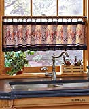 Country Heart Star Faith Family Friends Valance w/Hooks Kitchen Rustic Primitive