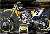 JAMES STEWART SUZUKI RMZ450 GIANT MOTOCROSS POSTER