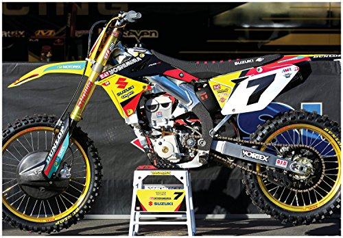 suzuki dirt bike poster