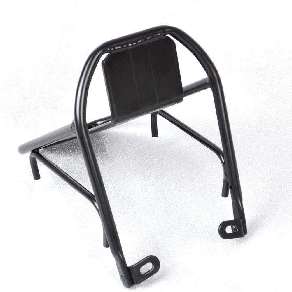 Noir Support de sacoches de Chariot /à /étag/ère de Bagage de v/élo dalliage daluminium de v/élo 6SHINE Support Avant de Bicyclette