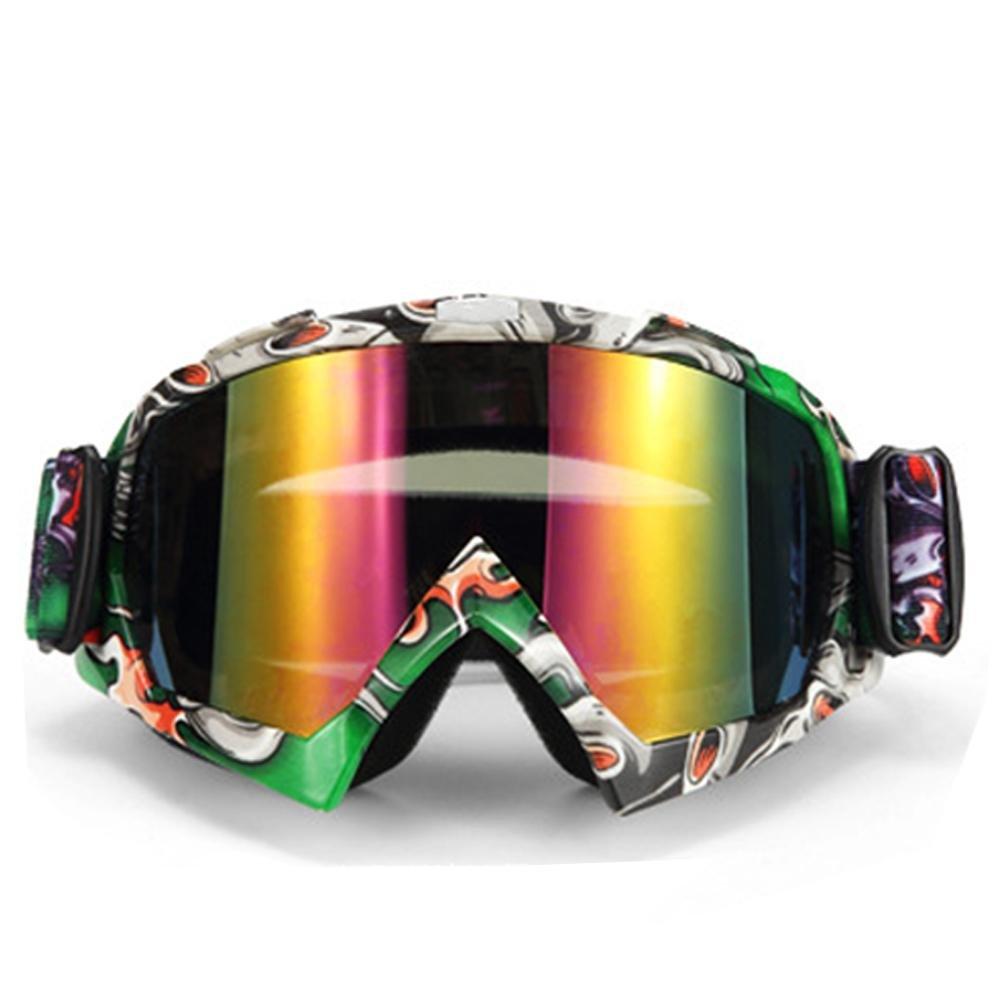 Anteojos De La Motocicleta Gafas De Parabrisas De Invierno Fresco Gafas De Esquí De Invierno Gafas De Equitación Al Aire Libre heresell