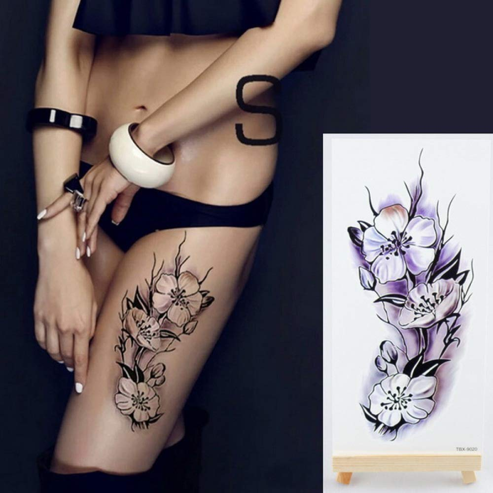 Handaxian 3pcsLotus Tattoo Sticker Body Art Tatuaje Impermeable ...