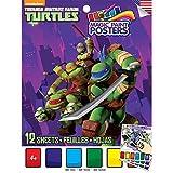 ninja turtle art kit - Savvi Teenage Mutant Ninja Turtles Magic Paint Poster Book