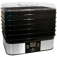 Deals on Weston 6-Tray Black Food Dehydrator with Temperature Sensor
