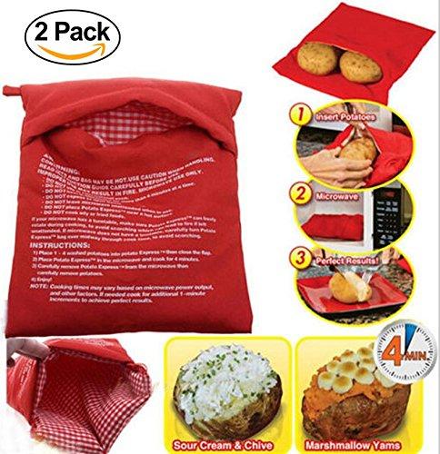 Bolsa de patatas para hornear en microondas, bolsa de cocción de ...