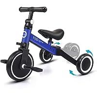 XJD 3 EN 1 Triciclo para Niños Bicicleta para bebé 1-3 años con Pedales Desmontables Asiento Elevador para Ajustar…