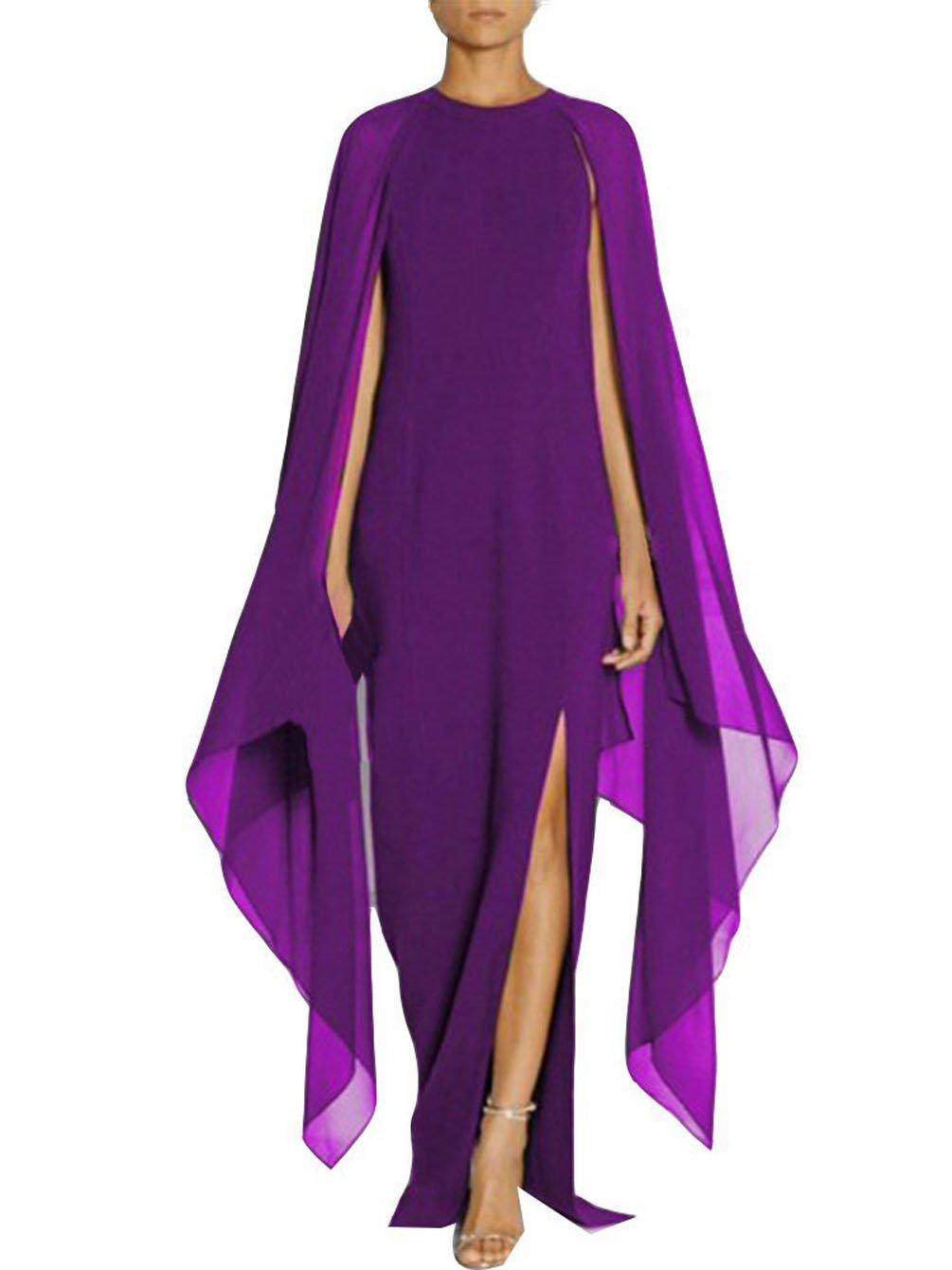 Mujer Vestidos Largos De Fiesta para Bodas Moda Irregular Fiesta ...