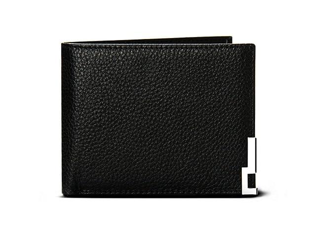 Amazon.com: ibexman Mens portafolios de piel FlipOut ID ...