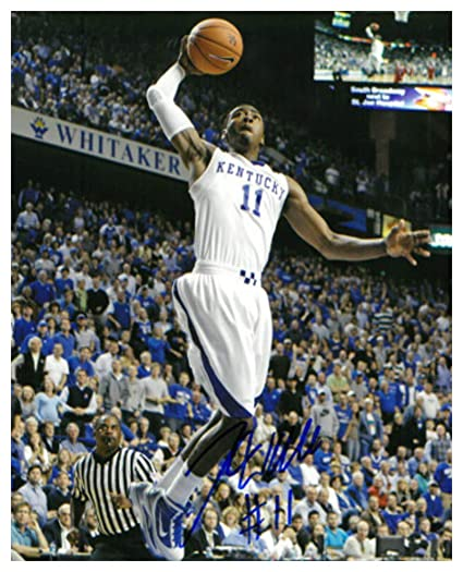 new york 5b6cf abde4 John Wall Signed Autograph Kentucky Wildcats 8x10 Photo #11 ...