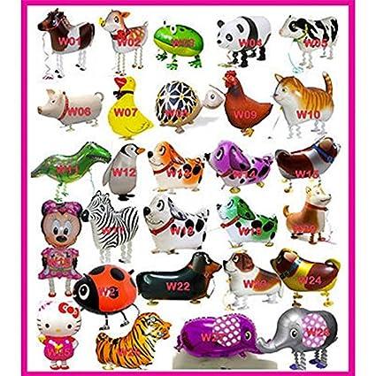 Amazon.com: Juego de 500 globos para paseos y mascotas de ...