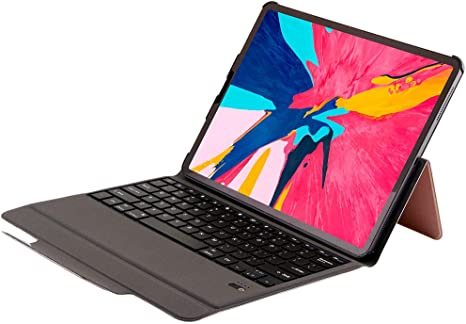Tastatur Leder Schutzhülle Für Ipad Pro 12 9 Elektronik