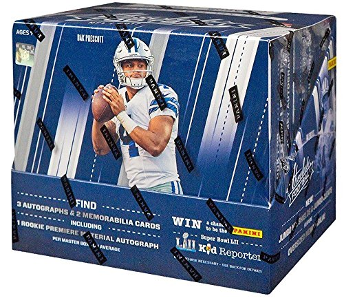 2017 Panini Absolute Football Hobby Box by Panini