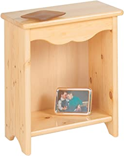 product image for Little Colorado Toddler Bedside Stand, Natural