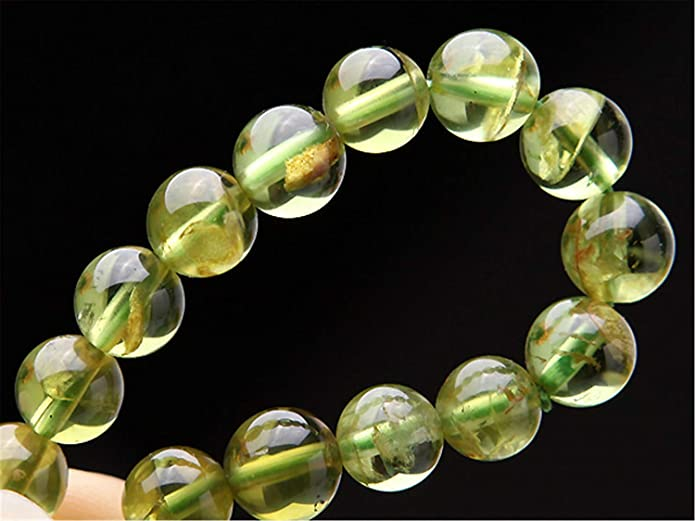 8mm Grade A Peridot Solid Stretch Bracelet for Alleviating Jealousy and Releasing Old Baggage Cleansing Activating and Healing the Heart