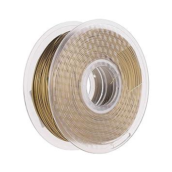 Rollo de filamento, metal bronce PLA Filamento 1.75 mm Impresora ...