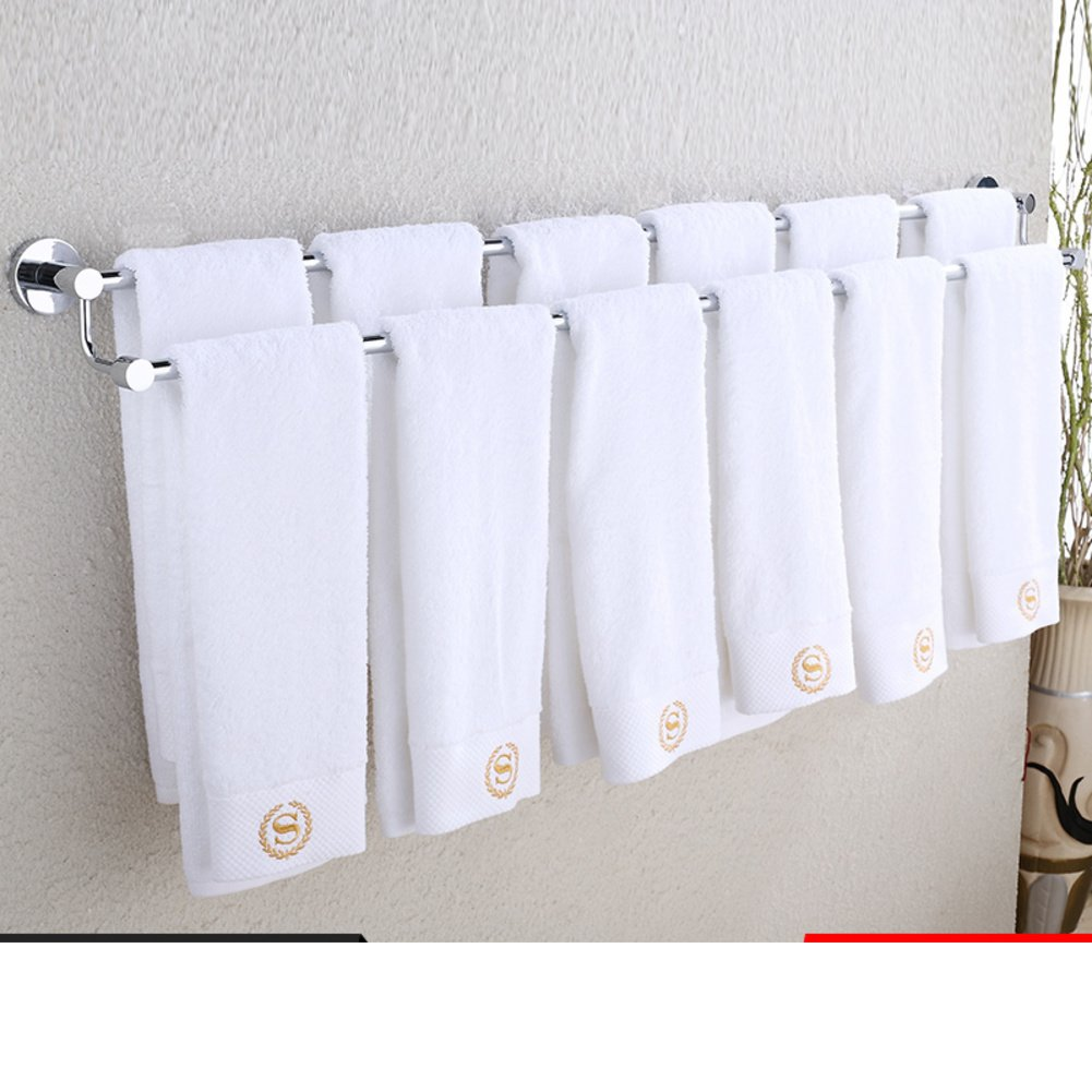 durable service towel rack/Towel shelf / double-bar Towel rack-J