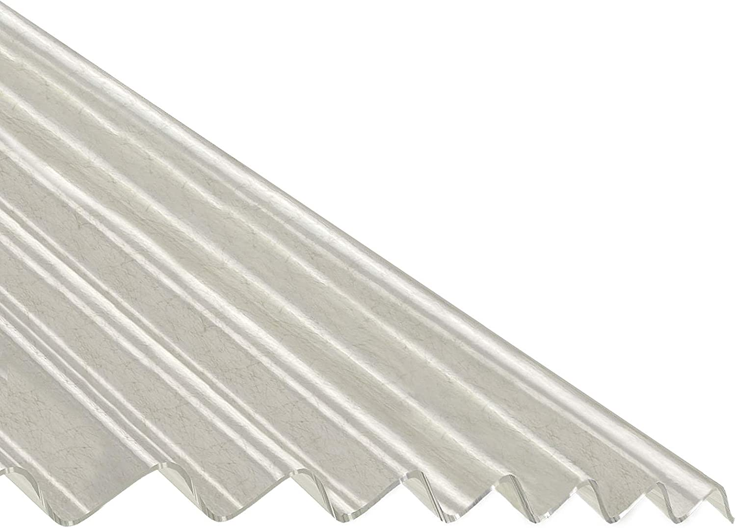Translucent Grp Polyester Corrugated Roof Sheet Lean To Corrapol Roofing Amazon Co Uk Diy Tools